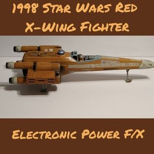 1998 Star Wars Electronic X-Wing Fighter